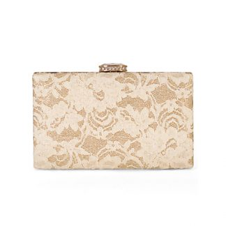 Chesca Lace Detail Clutch Bag