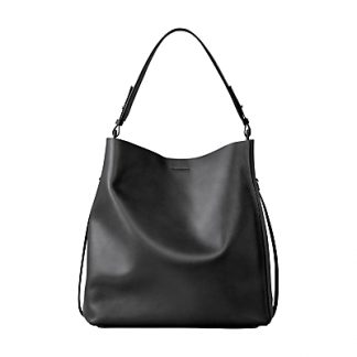 AllSaints Paradise Leather North South Tote Bag