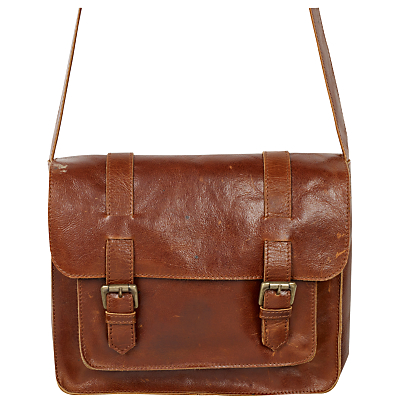 Fat Face Claire Leather Satchel Bag
