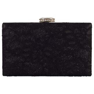 Chesca Floral Lace Clutch Bag