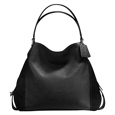 Coach Edie 42 Leather Shoulder Bag