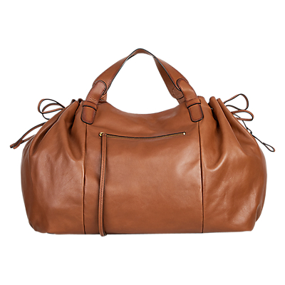 Gerard Darel Le Maxi GD Leather Shoulder Bag