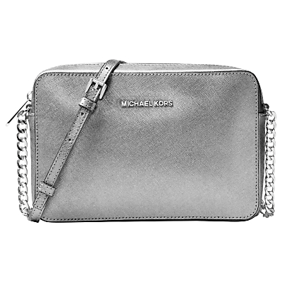 MICHAEL Michael Kors Jet Set Travel East/West Leather Cross Body Bag
