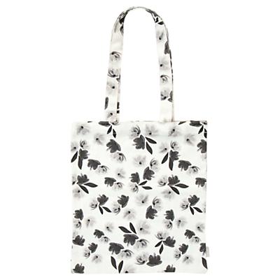 Caroline Gardner Floral Canvas Tote Bag