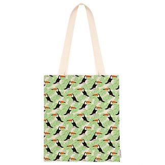 Fenella Smith Toucan and Palm Print Tote Bag