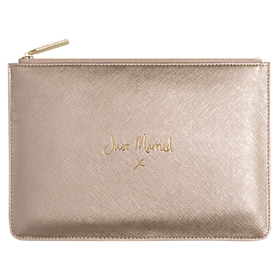 Katie Loxton 'Just Married' Perfect Pouch