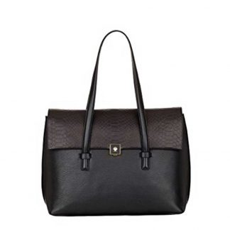 Modalu Parker: Black Shoulder Bag MH4756 BLACK