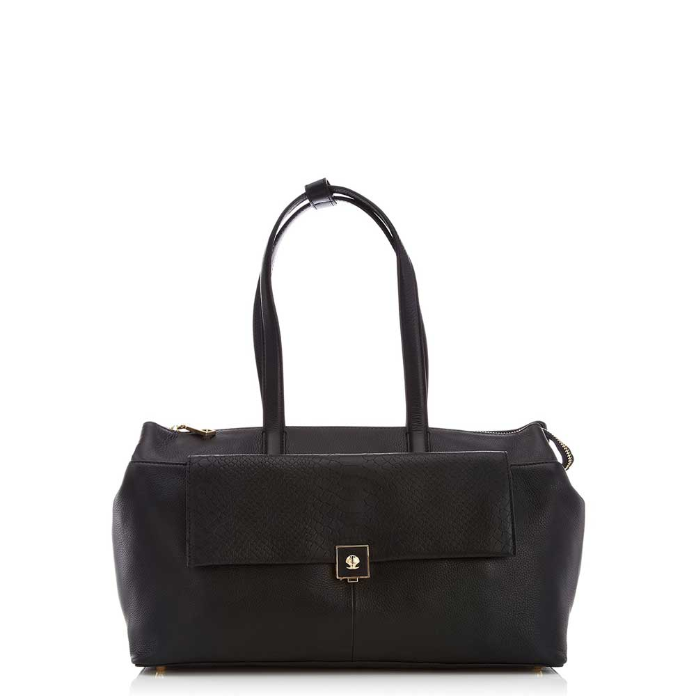 Modalu Parker: Black Mini Shoulder Bag MH4791 BLACK