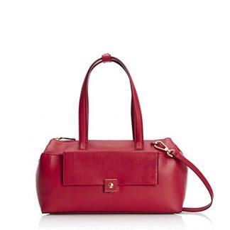 Modalu Parker: Red Mini Shoulder Bag MH4791 ROUGE RED