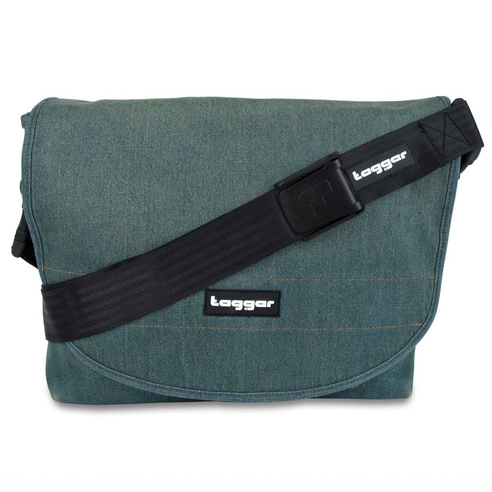 Tagger Light Denim Complete Shoulder Bag 5001-LT DEN-LT DEN-BLK