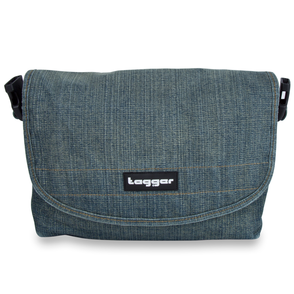 Tagger Denim Bag Only 5101-DEN-DEN-BLK