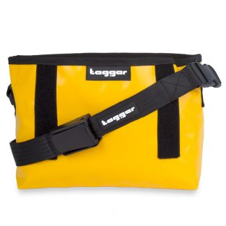 Tagger Yellow Bag Black Strap 5101-YEL-BLK