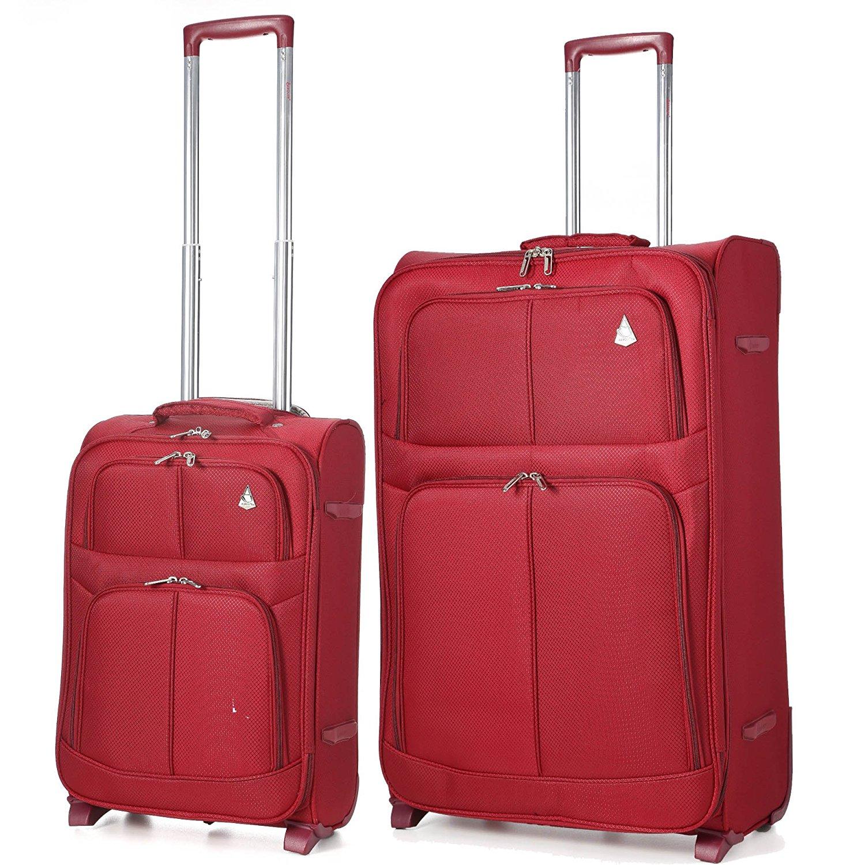 Aerolite 2 Wheel Super Lightweight Upright Suitcase (21/26