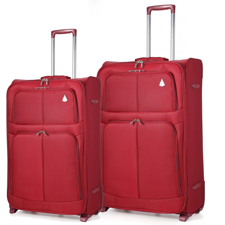 Aerolite 2 Wheel Super Lightweight Upright Suitcase (26/29