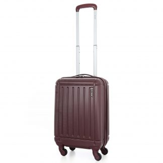 5 Cities Lightweight ABS Hard Shell Suitcase with 4 Wheels