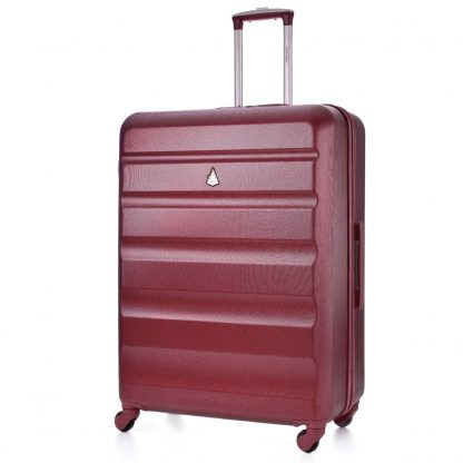 "Aerolite ABS325 Medium 25"" 4 Wheel ABS Hard Shell Luggage Suitcase"