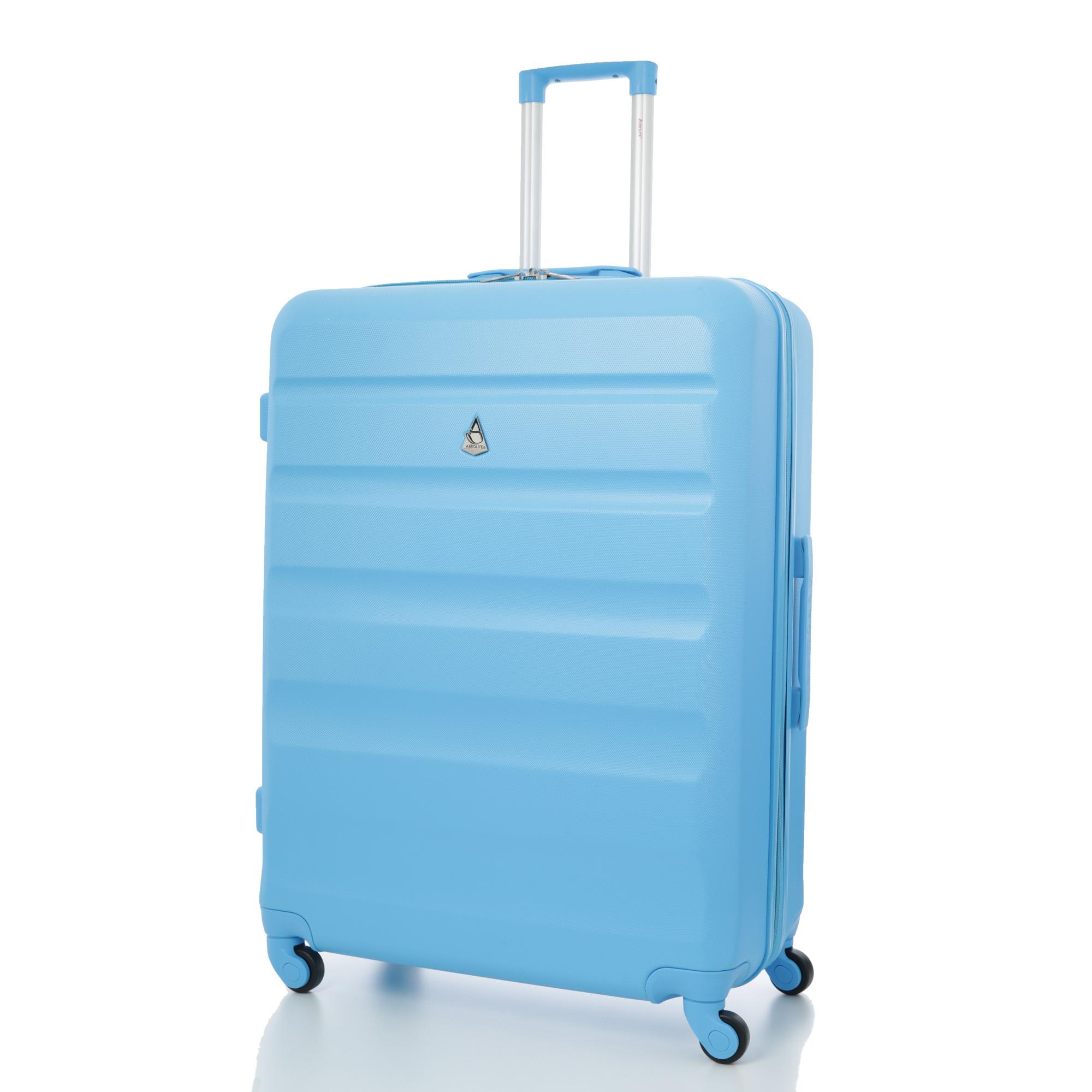 """Aerolite Medium 26"""" Super Lightweight ABS Suitcase with 4 Wheels"""