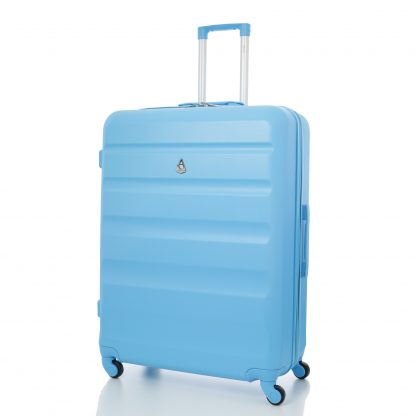 Aerolite Super Lightweight ABS Hard Shell Suitcase with 4 Wheels