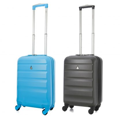 Aerolite Super Lightweight ABS Hard Shell Suitcase - 4 Wheels Set of 2
