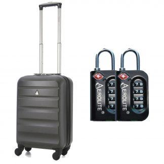 "Aerolite 21"" Hard Shell 4 Wheel Spinner Super Lightweight Suitcase"