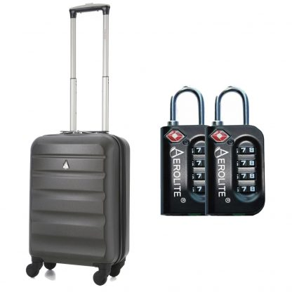 "Aerolite 21"" Hard Shell 4 Wheel Spinner Super Lightweight Suitcase"