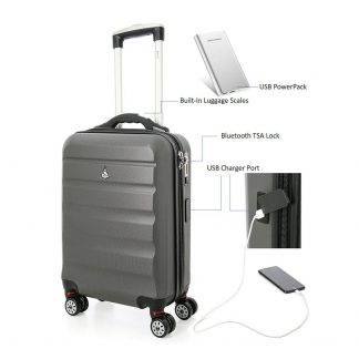 Aerolite SMART Suitcase USB Port