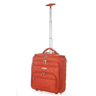 Aerolite Underseat Cabin Hand Luggage Trolley Bag (fits 45x36x20cm)