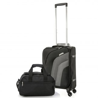 Aerolite Ultra Lightweight Suitcase 4 Wheels Cabin + Bag