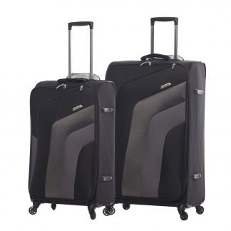 Aerolite Ultra Lightweight Suitcase 4 Wheels Medium/Large