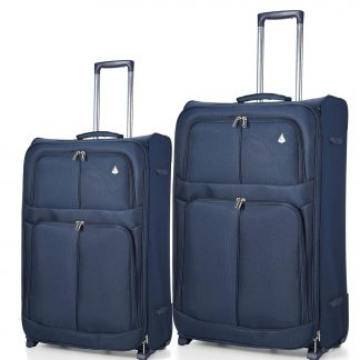 Aerolite 2 Wheel Super Lightweight Upright Suitcase 26/29