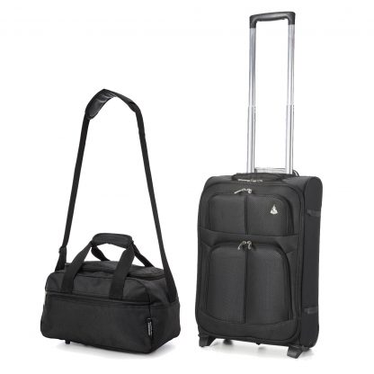 Aerolite 2 Wheel 55x35x20 Upright Suitcase