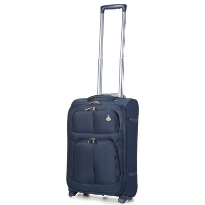 "Aerolite 9613 Lightweight 21"" (55cm) 2 Wheel Cabin Hand Luggage"