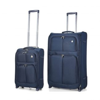 Aerolite 2 Wheel Super Lightweight Upright Suitcase 21/29