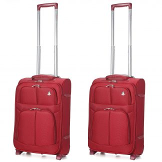 Aerolite Super Lightweight Travel Suitcase with 2 Wheelsc