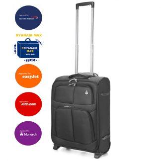 Aerolite 55x40x20cm 42L Lightweight Hand Luggage Suitcase