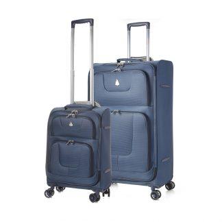 Aerolite Super Lightweight 8 Wheel Spinner Trolley Cases 21 + 29