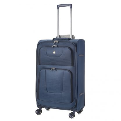 Aerolite AERO9978 600D Ripstop 8 Wheel  26in Lightweight Suitcase