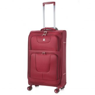 Aerolite AERO9978 600D Ripstop 8 Wheel 26in Lightweight Suitcase