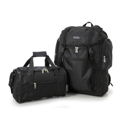 Ultra-Lightweight Backpack & Additional Bag 55x40x20cm & 35x20x20cm