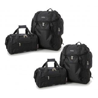 Set of 4: 2 x Ultra-Lightweight Backpack 55x40x20cm 2nd Bag 35x20x20cm