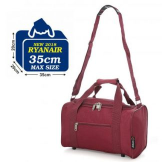 5 Cities Small 35 x 20 x 20 cm Cabin Hand Luggage Holdall Flight Bag