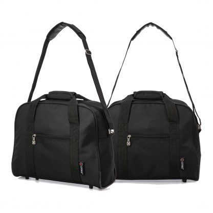40x30x15cm Additional Second Hand Luggage Cabin Holdall Bag - Set of 2