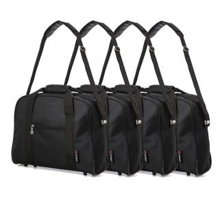 40x30x15cm Additional Second Hand Luggage Cabin Holdall Bag - Set of 4