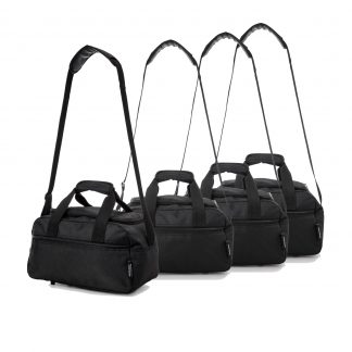 Aerolite 35x20x20cm Maximum 2nd Additional Hand Holdall Bag - Set of 4