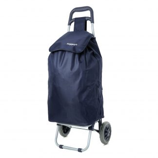 Hoppa Lightweight Wheeled Shopping Trolley Navy