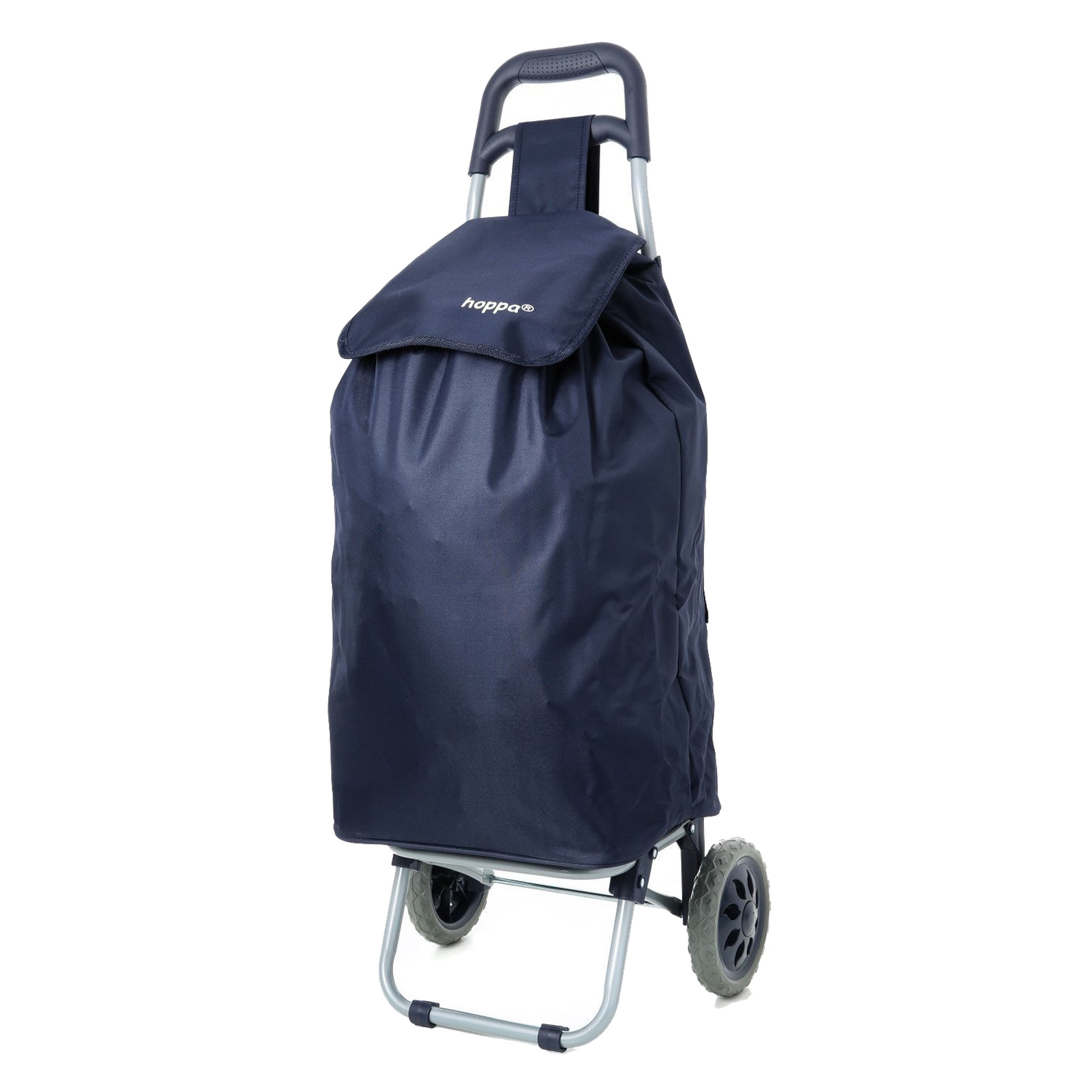 Hoppa Lightweight Wheeled Shopping Trolley Navy