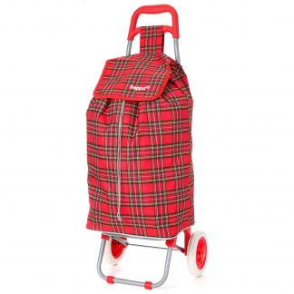 Hoppa Lightweight Wheeled Shopping Trolley