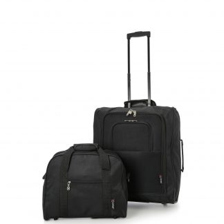 56x45x25cm & 40x30x15cm Main & Additional Cabin Bag - Set of 2