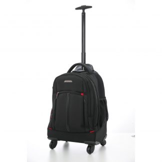 "Aerolite 21"" 4 Wheel Trolley Backpack Shoulder Bag"