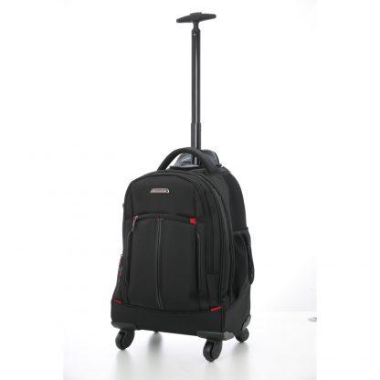 "Aerolite 21"" 4 Wheel Trolley Backpack Shoulder Bag"
